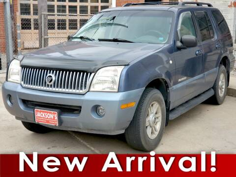 2002 Mercury Mountaineer for sale at Jacksons Car Corner Inc in Hastings NE