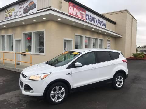 2015 Ford Escape for sale at Suarez Auto Sales in Port Huron MI