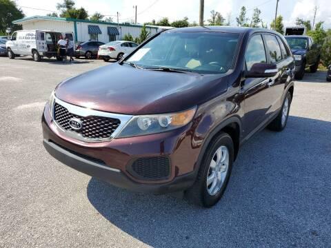 2011 Kia Sorento for sale at Jamrock Auto Sales of Panama City in Panama City FL