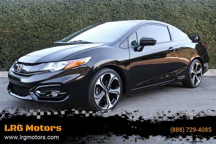 2014 Honda Civic for sale at LRG Motors in Montclair CA