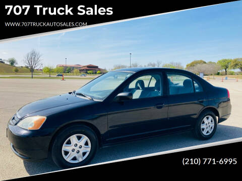 2003 Honda Civic for sale at 707 Truck Sales in San Antonio TX