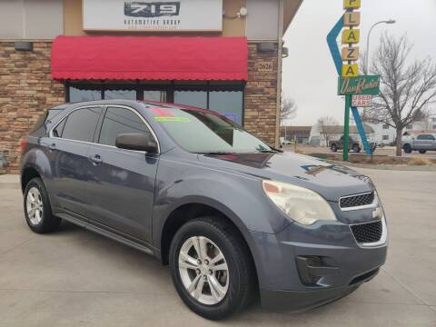 2013 Chevrolet Equinox for sale at 719 Automotive Group in Colorado Springs CO