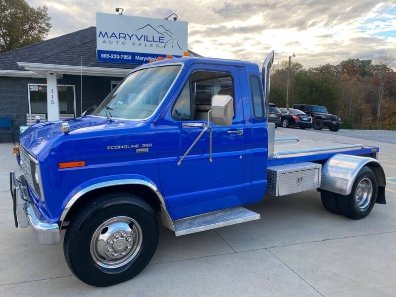 1989 Ford E-Series Chassis for sale at Maryville Auto Sales in Maryville TN