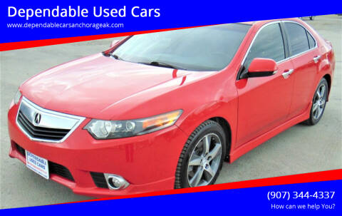 2012 Acura TSX for sale at Dependable Used Cars in Anchorage AK