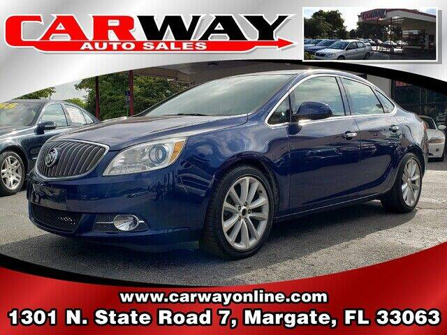 2013 Buick Verano for sale at CARWAY Auto Sales in Margate FL