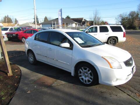 2012 Nissan Sentra for sale at Car Link Auto Sales LLC in Marysville WA