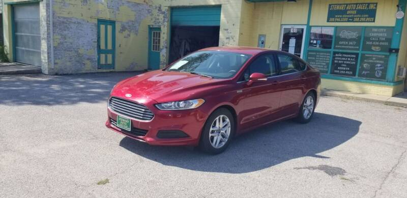 2014 Ford Fusion for sale at Stewart Auto Sales Inc in Central City NE