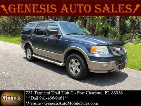 2004 Ford Expedition for sale at GENESIS AUTO SALES in Port Charlotte FL