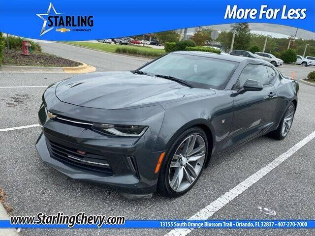 2016 Chevrolet Camaro for sale at Pedro @ Starling Chevrolet in Orlando FL