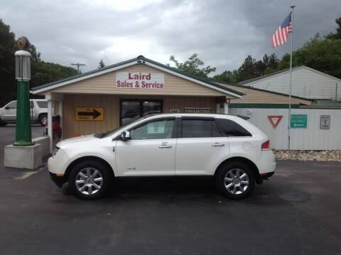 2009 Lincoln MKX for sale at LAIRD SALES AND SERVICE in Muskegon MI