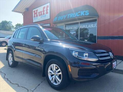 2016 Volkswagen Tiguan for sale at HUFF AUTO GROUP in Jackson MI
