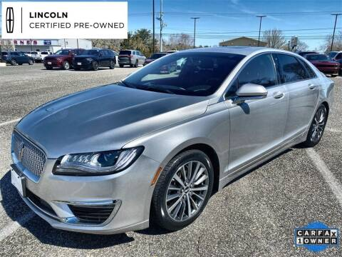 2018 Lincoln MKZ for sale at Kindle Auto Plaza in Cape May Court House NJ