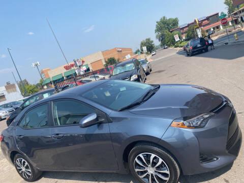 2018 Toyota Corolla for sale at Sanaa Auto Sales LLC in Denver CO