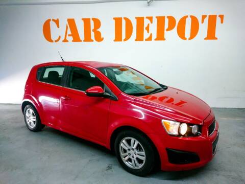 2013 Chevrolet Sonic for sale at Car Depot in Miramar FL