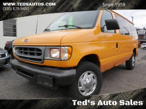 2001 Ford E-Series Cargo for sale at Ted's Auto Sales in Louisville OH