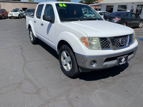 2006 Nissan Frontier for sale at Robert Judd Auto Sales in Washington UT