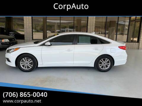 2017 Hyundai Sonata for sale at CorpAuto in Cleveland GA