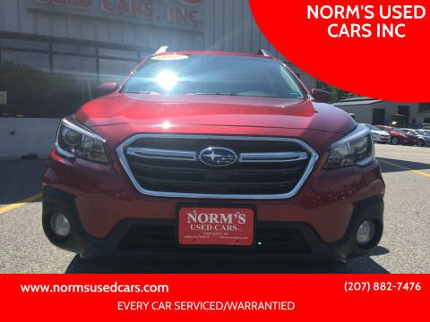 2019 Subaru Outback for sale at NORM'S USED CARS INC in Wiscasset ME