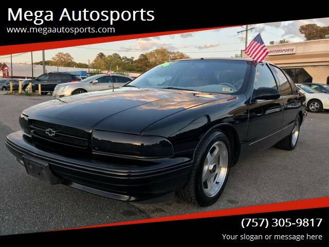 1996 Chevrolet Impala for sale at Mega Autosports in Chesapeake VA