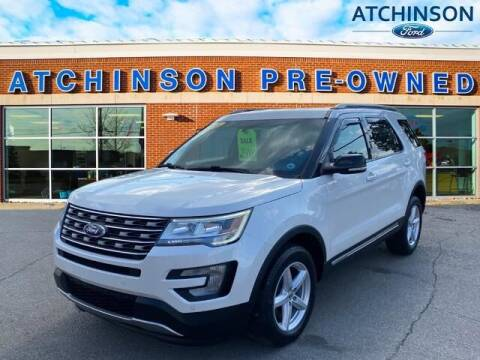 2016 Ford Explorer for sale at Atchinson Ford Sales Inc in Belleville MI