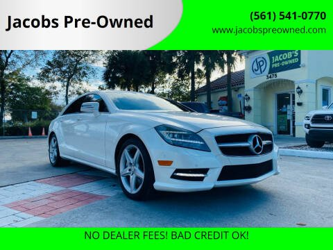 2014 Mercedes-Benz CLS for sale at Jacobs Pre-Owned in Lake Worth FL
