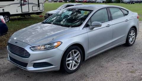 2013 Ford Fusion for sale at Family First Auto in Spartanburg SC