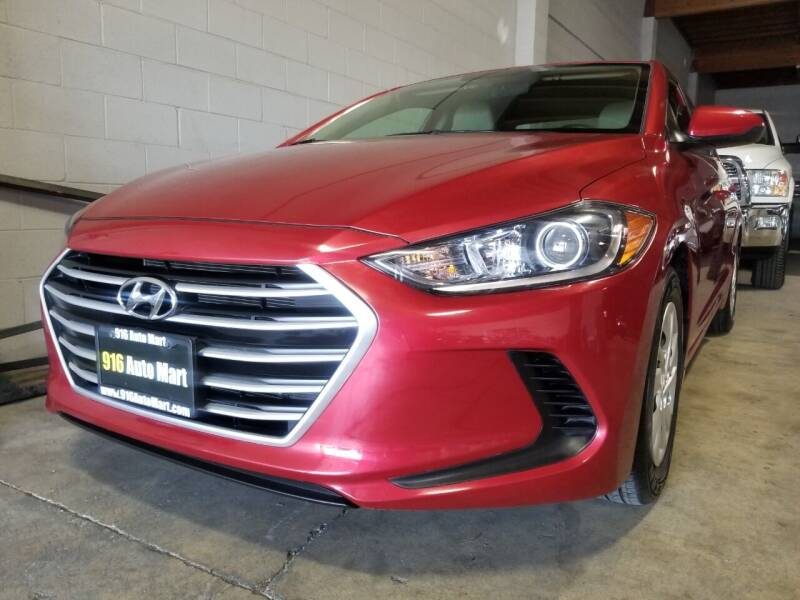 2018 Hyundai Elantra for sale at 916 Auto Mart ONLY $399 DOWN!!!* in Sacramento CA