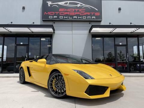 2012 Lamborghini Gallardo for sale at Exotic Motorsports of Oklahoma in Edmond OK