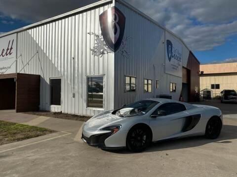 2016 McLaren 650S Spider for sale at Barrett Auto Gallery in San Juan TX