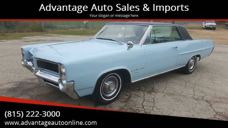 1964 Pontiac Grand Prix for sale at Advantage Auto Sales & Imports Inc in Loves Park IL