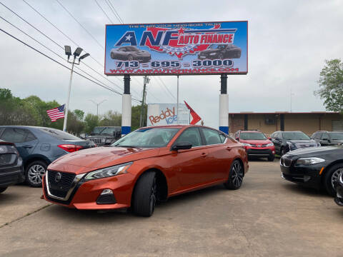 2019 Nissan Altima for sale at ANF AUTO FINANCE in Houston TX