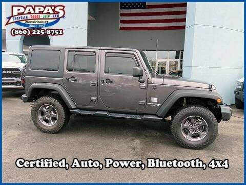 2017 Jeep Wrangler Unlimited for sale at Papas Chrysler Dodge Jeep Ram in New Britain CT