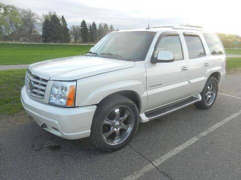 2004 Cadillac Escalade for sale at Dales Auto Sales in Hutchinson MN