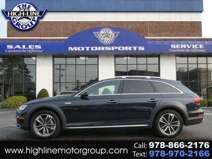 2018 Audi A4 allroad for sale at Highline Group Motorsports in Lowell MA