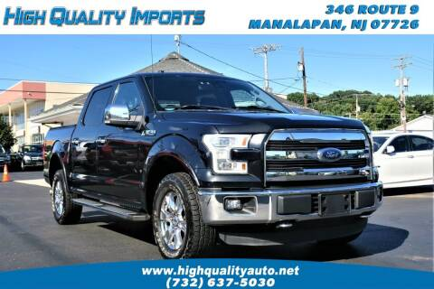 2015 Ford F-150 for sale at High Quality Imports in Manalapan NJ