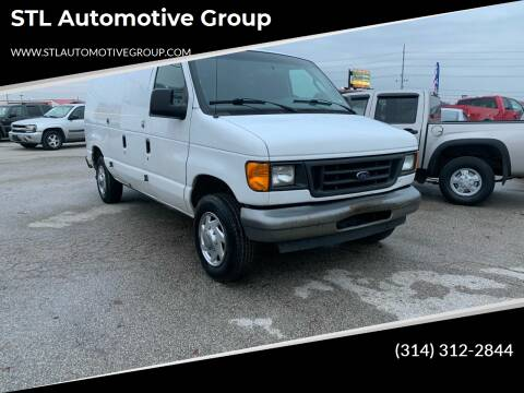 2007 Ford E-Series Cargo for sale at STL Automotive Group in O'Fallon MO