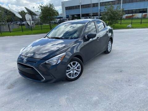 2018 Toyota Yaris iA for sale at Auto Credit & Finance Corp. in Miami FL