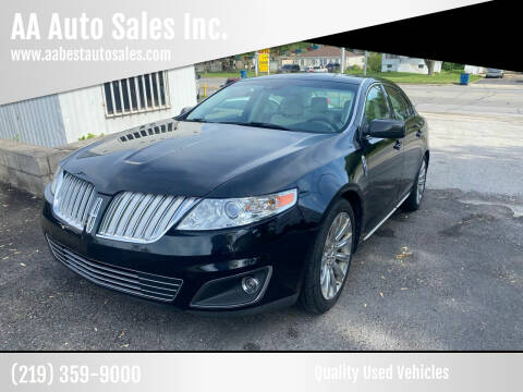 2009 Lincoln MKS for sale at AA Auto Sales Inc. in Gary IN