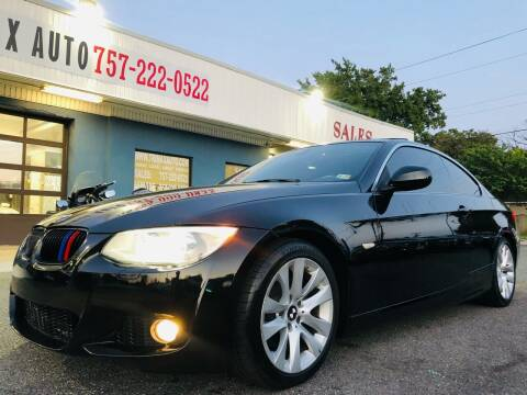 2012 BMW 3 Series for sale at Trimax Auto Group in Norfolk VA
