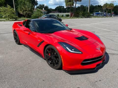 2014 Chevrolet Corvette for sale at Consumer Auto Credit in Tampa FL