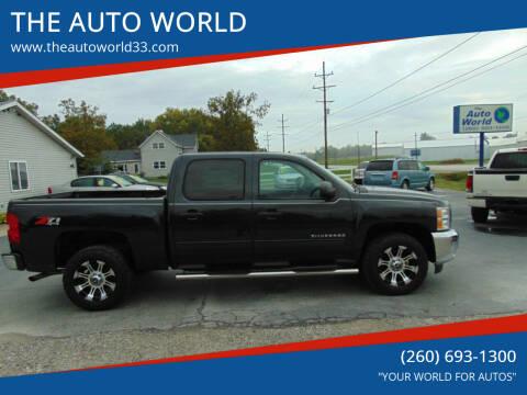 2012 Chevrolet Silverado 1500 for sale at THE AUTO WORLD in Churubusco IN