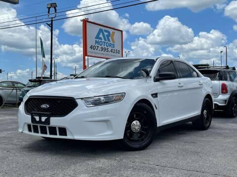 2017 Ford Taurus for sale at Ark Motors LLC in Orlando FL