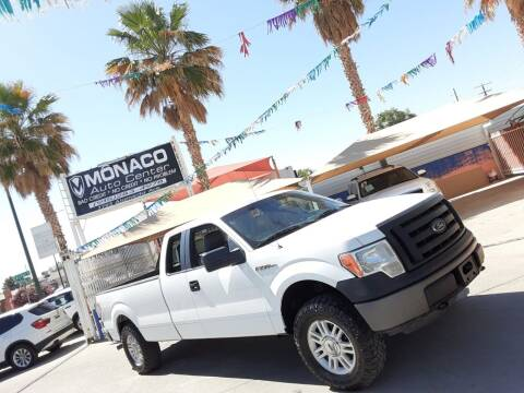 2012 Ford F-150 for sale at Monaco Auto Center LLC in El Paso TX