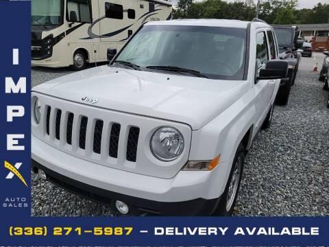 2017 Jeep Patriot for sale at Impex Auto Sales in Greensboro NC