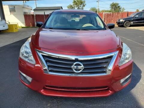2013 Nissan Altima for sale at North Chicago Car Sales Inc in Waukegan IL