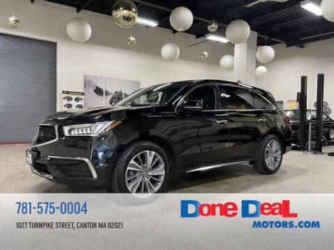 2018 Acura MDX for sale at DONE DEAL MOTORS in Canton MA