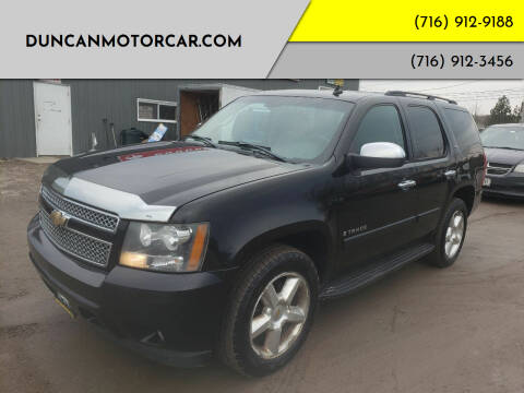 2007 Chevrolet Tahoe for sale at DuncanMotorcar.com in Buffalo NY