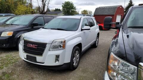 2014 GMC Terrain for sale at Clare Auto Sales, Inc. in Clare MI