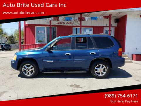 2005 GMC Envoy for sale at Auto Brite Used Cars Inc in Saginaw MI