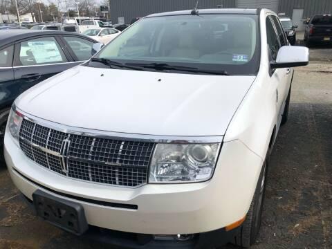 2010 Lincoln MKX for sale at M & E Motors in Neptune NJ